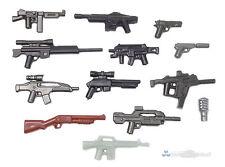 Brickarms value #4 militar de armas set, Custom armas para lego ® personajes