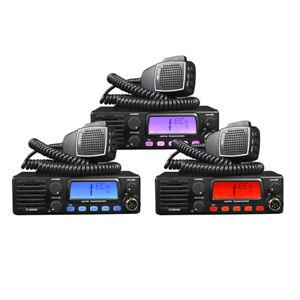 TTI TCB 900 mobile CB radio AM FM UK EU dual voltage front speaker