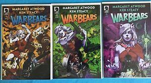 War Bears 1 2 3 (Dark Horse Comics, 2018) SET Margaret Atwood 1-3 WarBears