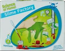 Science at Home Slime Factory - 8 Experiments Complete Kit Childrens Activity