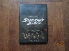 DVD MUSIQUE shadows fall the art of touring