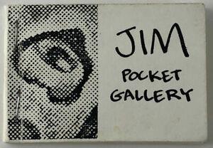 Jim Woodring / Jim Pocket Gallery Signed 1987