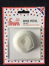 Cake Decorating Gumpaste Fondant NEW FMM Rose Petal Set of 5