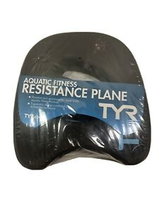 TYR  Aquatic Resistance Plane Water Resistance Training Hand Paddles Black Blue