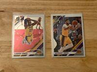2019-20 Donruss Optic LeBron James Anthony Davis Base Lakers lot PSA 10?