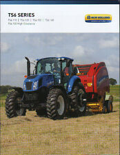 "New Holland ""TS6 Series"" Tractor Brochure Leaflet"