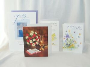 Hallmark Carlton & PVA Religious Friendship Greeting Card W/ Envelope of Choice