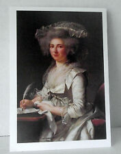Adelaide Labille Guiard Painting Postcard National Museum Women Arts Unposted