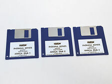 Lucas película Indiana Jones and Last Crusade CBM amiga Game juego disks only tested