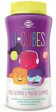 U-Cubes Children's Multi-Vitamin & Mineral Gummies, Solgar, 120 count