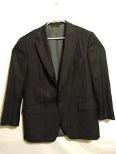 SAMUELSOHN Super 110s Suit Jacket Men's 42R Navy Pinstripe 100% Wool