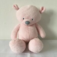Mothercare Pink Teddy Bear Plush Soft Toy H 10 inch