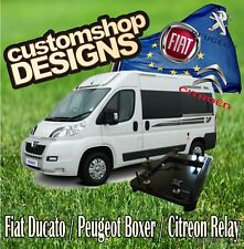 Ducato, Relay Camper Van Double Seat Swivel Base (LHD European Model)