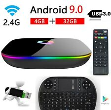 Superview Q-Box Android 9.0 TV Box Media Player 4+32GB WIFI Mini Keyboard
