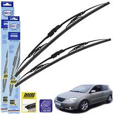 """Toyota Corolla 2002-2007 windscreen wiper blades 22"""" 19"""" alca SPECIAL"""