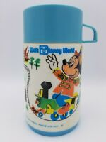 Walt Disney World Themed Aladdin Lunchbox Thermos Bottle Cap n Lid Mickey Mouse