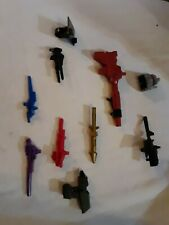 Vintage G1 TRANSFORMERS Weapon Armor Lot OF 10 1980'S lot # 5