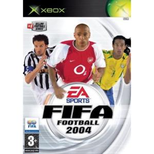 FIFA FOOTBALL 2004 XBOX OLD GIOCO USATO OTTIME CONDIZIONI ITALIANO CALCIO DVD CD