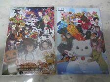 2 x Digimon tri. POST CARD (Tai Matt Sora Mimi Kari TK Izzy Joe Meiko Photo) NEW
