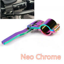 1pcs Neo Chrome Steering Wheel Turn Signal Lever Extension Rod Car Accessories
