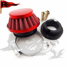 Red 44mm Adattatore del filtro dell'aria Per 47 49 Mini Moto Kids ATV Dirt Bike