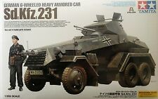 Tamiya German 6-Wheeled Sd.Kfz.231 - Heavy Armored Car Plastic model kit 1/35