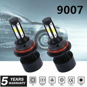 9007 HB5 LED Headlight Conversion Kit 2000W 200000LM HI-LOW Beam Bulbs 6000K