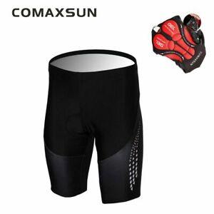 COMAXSUN Men's Cycling Shorts 5D Gel Padded Bike Bicycle Sports Tight  Size XL