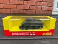 Solido Sherman M4 A3 Tank In Its Original Box - Nr Mint Model Army / Military