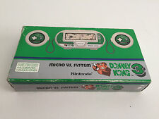 Game watch donkey kong 3 micro vs System good condition buen estado boxed caja