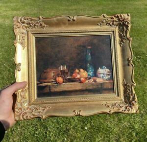 Jean-Baptiste Simèon Chardin Still Life framed Reproduction Le Bocal D'Olives