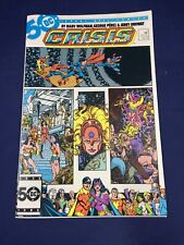 Crisis on Infinite Earths #11 DC Comics 1986 Justice League Superman Flash VF