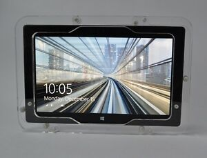 MS Surface RT, Surface 2 Clear Wall Mount Kit for Kiosk, POS, Store Show Display