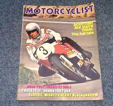 Motorcyclist June 1972 Vincent Black Shadow Honda 750-4, Agostini MV, HRD, 380-3