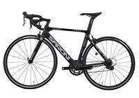 SARONI AERO Carbon Bike Frame Fork Wheel Road Bicycle 700C Clincher V brake 49cm