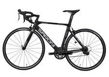 SARONI 56cm AERO Carbon Bike Frame Fork Wheel Road Bicycle 700C Clincher V brake
