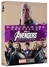 Avengers - Infinity War - 10° Ann. - Blu Ray Con Slipcase  - Nuovo Sigillato