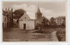 PARISH CHURCH, ANSTRUTHER: Fife postcard (C16629)