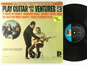 Ventures - Play Guitar With The Ventures Vol. 3 LP - Dolton VG+