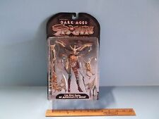 #04 Dark Ages Spawn The Skull Queen  Bone Colored Skull Sword Variant McFarlane