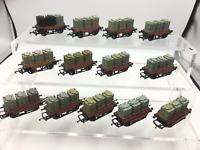Hornby R340 OO Gauge BR 14t Conflat Wagon w Containers B734259 x13