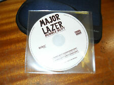 Major Lazer ft.Bruno Mars - Bubble Butt - Cd Promo 2 mixes