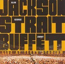 ALAN JACKSON GEORGE STRAIT JIMMY BUFFETT CD LIVE FROM TEXAS STADIUM SEALED