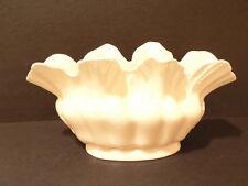 Vintage Erphila Czechoslovakia Fluted Vase – Planter White Ebling & Reuss  (S1