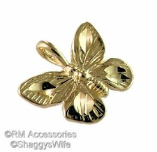 Butterfly Charm Pendant EP Gold Plated Jewelry with a Lifetime Guarantee!