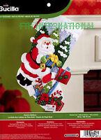 "Bucilla Santa's Mailbox ~ 18"" Felt Christmas Stocking Kit #86576 - 2014"
