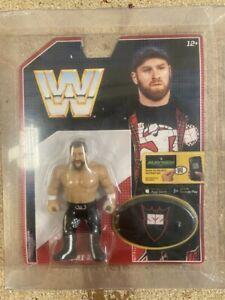 WWE SAMI ZAYN WITH CASE RETRO MATTEL SERIES 4 WRESTLING ACTION FIGURE WWF