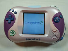 Leap Frog Leapster 2 #N2390 TESTED - Pink / Purple