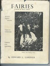 Fairies the cottingley photographs and their sequel by edward gardner 1972 hc/dj