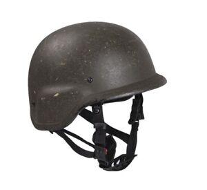 Army US Pasgt Nato Military Aramid Helm Battle Helmet Gefechtshelm oliv Gr. L